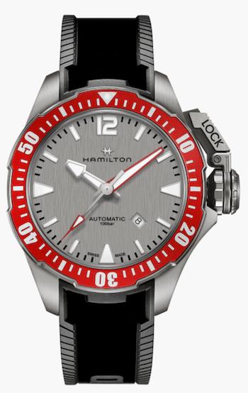 New watch alert - Hamilton Khaki Navy Frogman Titanium Auto
