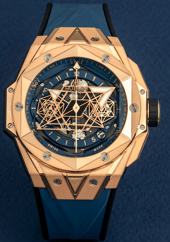 New watch alert - Hublot Big Bang Sang Bleu II King Gold