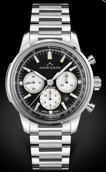 Norqain Freedom 60 Chronograph on steel