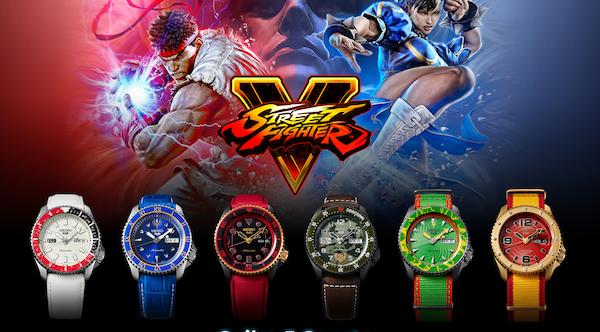 Seiko 5 STREETFIGHTER watches