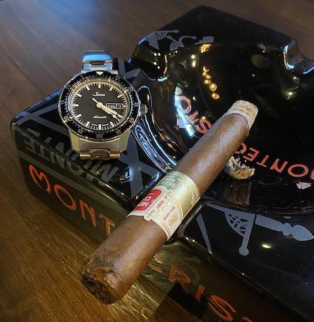 Sinn and Henry Clay cigar