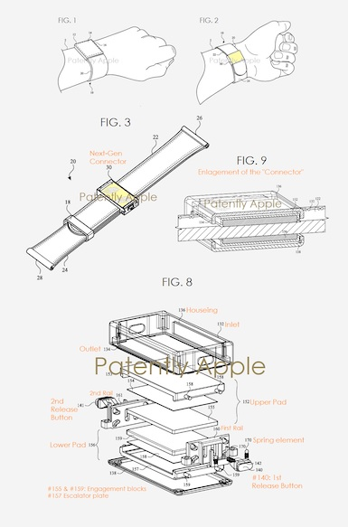 Watch news - Apple's new strap patent