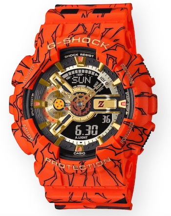 new watch alert! G-SHOCK Dragon Ball Z