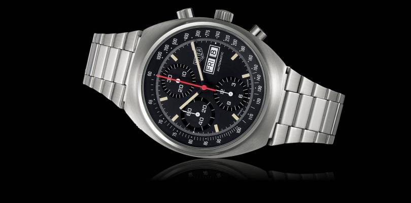 TAG Heuer motor sports watches are their thing