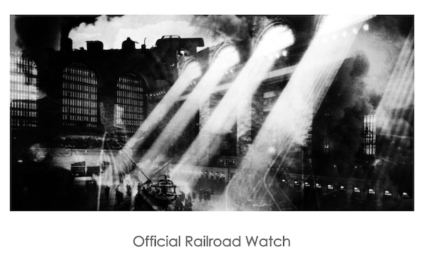 Official railroad watch