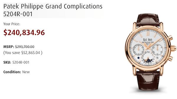 Patek Philippe Grand Complication