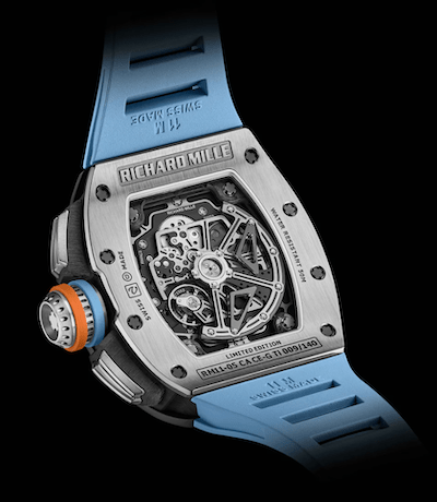 Richard Mille RM 11-05 Automatic Flyback Chronograph GMT caseback
