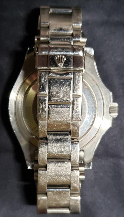Rolex Yachtmaster been through the wars