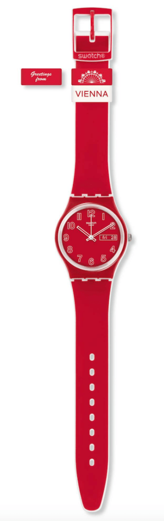 Swatch Greetings From Vienna - new watch alert