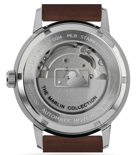 Timex Marlin Yankees caseback