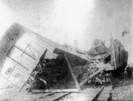 Kripton train wreck