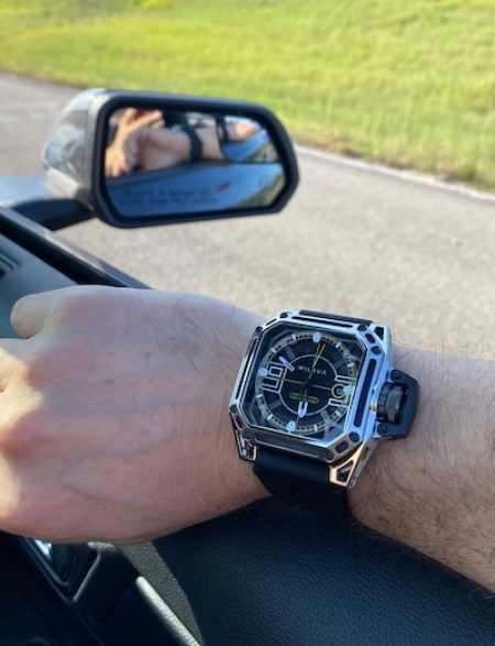 Wilbur Watches 2020 Launch Edition car