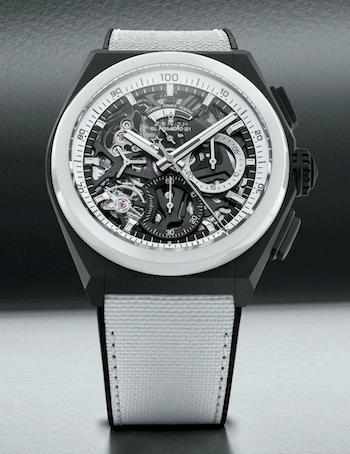 Zenith Defy El Primero 21 Black & White Edition - new watch alert