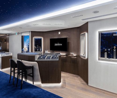 Zenith showroom Tokyo