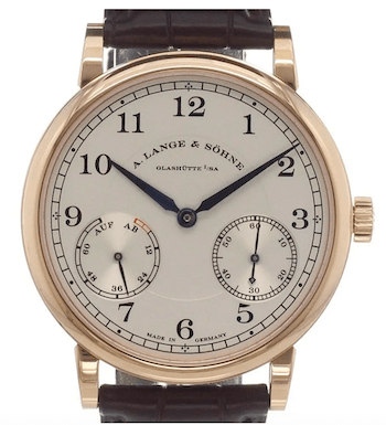 A. Lange & Soehne 1815 with power reserve indicator