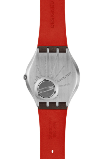 Bond watch caseback