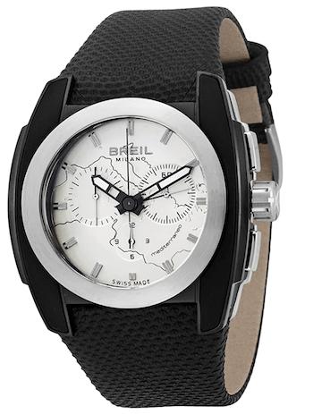 Breil Milano Breil Milano Men's BW0508 Mediterraneo Analog Black Dial Watch