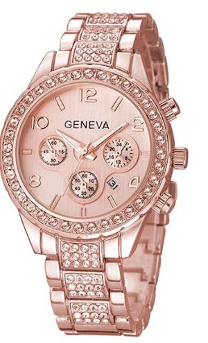 Breil Milano Luxury Unisex Crystal Diamond Watches Quartz Digital Calendar Rose Gold Silver Stainless Steel Watch