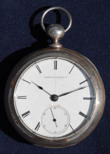 Waltham Watch Company early pocket watch