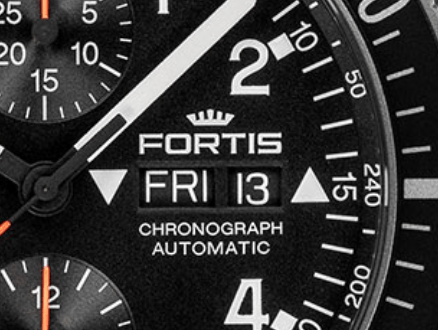 Fortis day date window