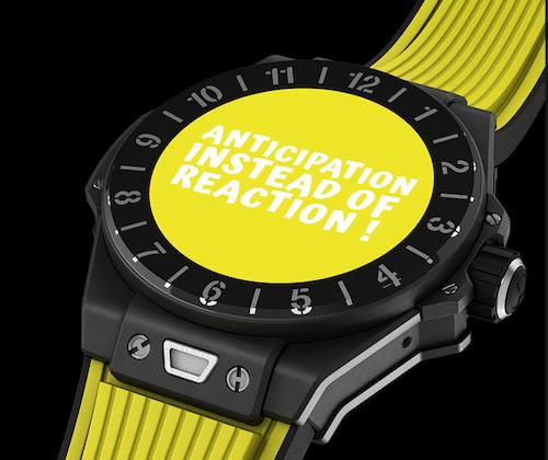 Hublot Big Bang e smartwatch yello