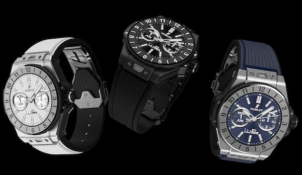 Hublot Big Bang e three smartwatches