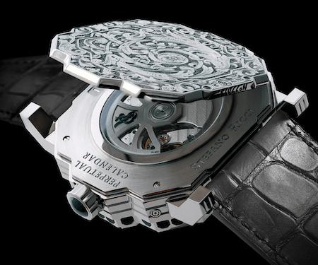 Stefano Ricci caseback - new watch alert
