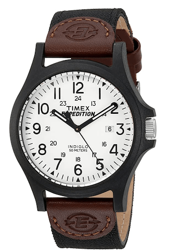 Timex Men's Expedition Acadia Full Size Watch - Amazon Prime Day watches