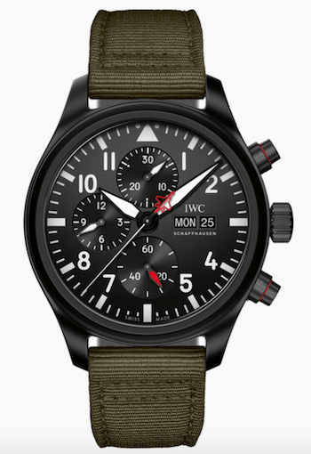 WC Pilot's Watch Chronograph Top Gun Edition SFTI