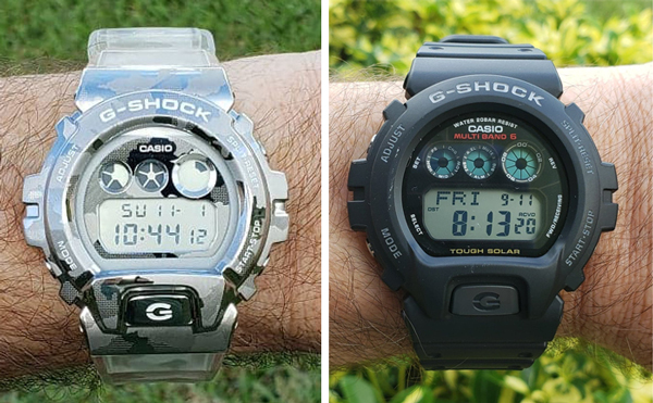 G-SHOCK Skeleton and friend