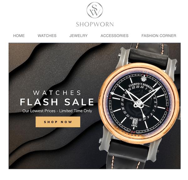 Pre-owned watch market - Shopworn