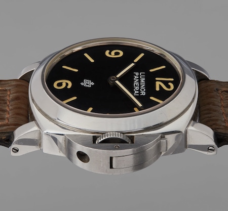 Sylvester Stallone Panerai side view