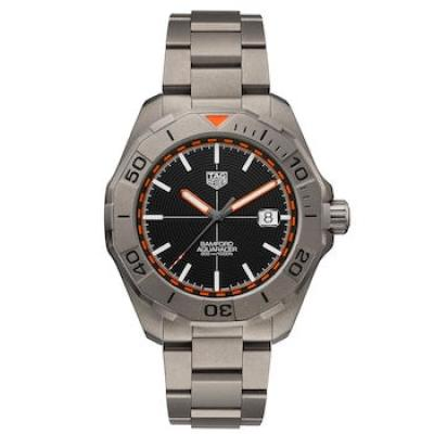 TAG Heuer x Bamford Aquaracer full on