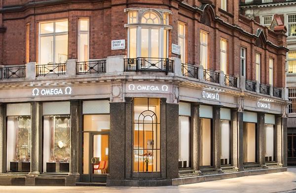 OMEGA boutique London