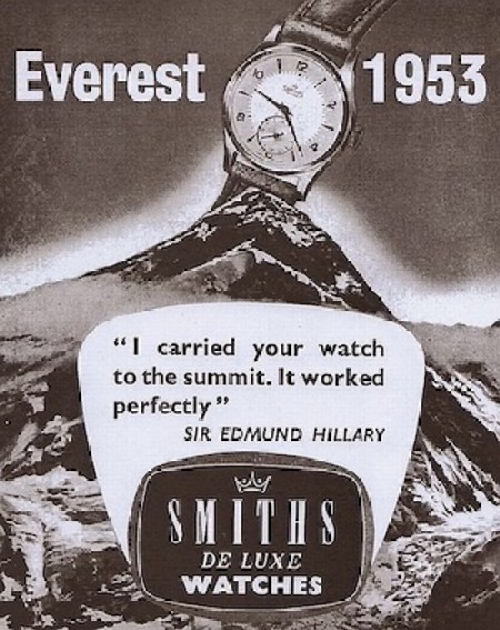 Smith's watch on everest
