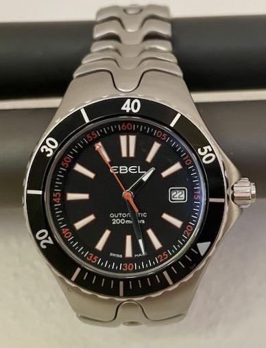 EBEL Sportwave Diver close up 2