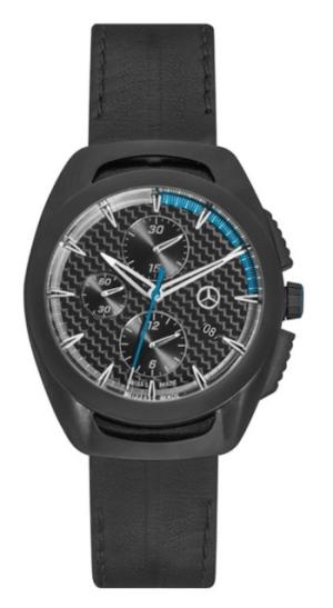 Mercedes vs. BMW watches - Automatic chronograph, men, Motorsports