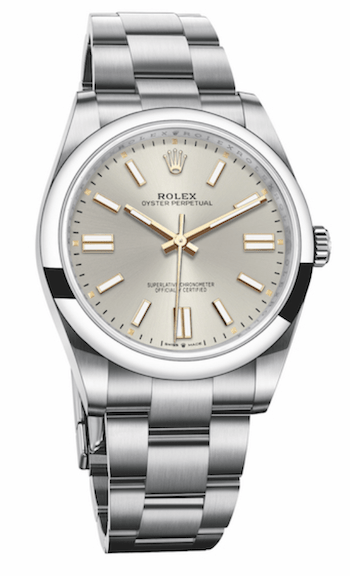 New Rolex Oyster Perpetual 41 in silver