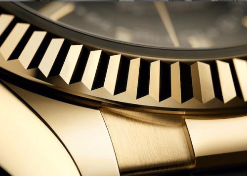 Wrist check fluted bezel on Rolex