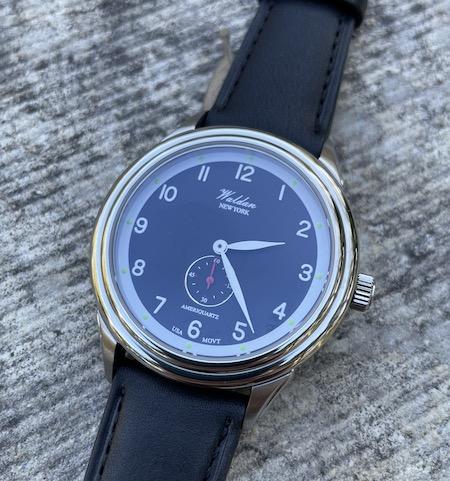Waldan Watch Heritage Professional angled