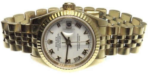 Yellow gold pre-owned Rolex, or is it?