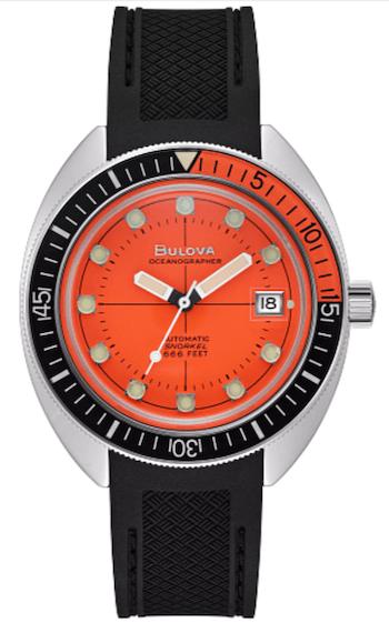Bulova Devil Diver - new watch alert