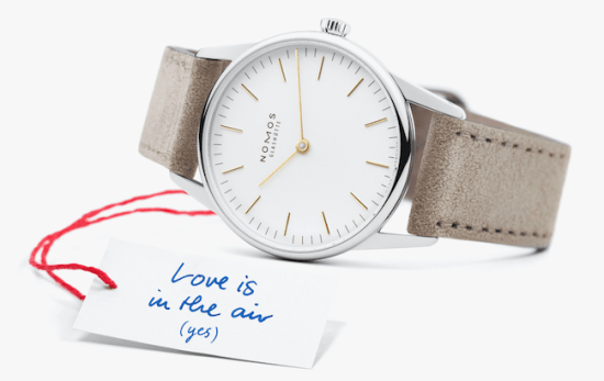 How to buy your wife a watch - NOMOS