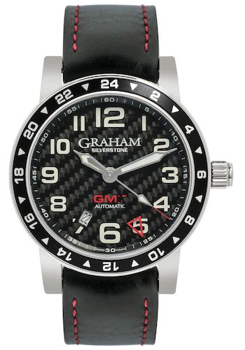 Graham Watches Silverstone Time Zone GMT Automatic