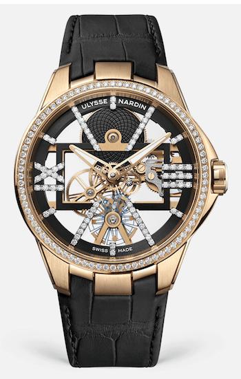 Ulysse Nardin Skeleton X Sparkling - new watch alert