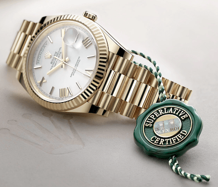 Watch dealer markup - Rolex president