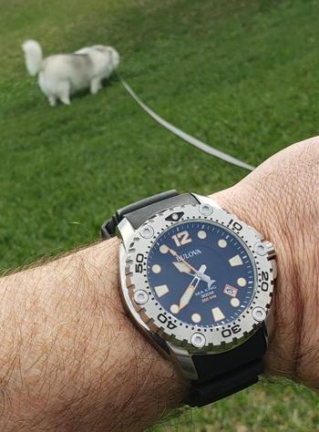 Bulova Sea King on leash