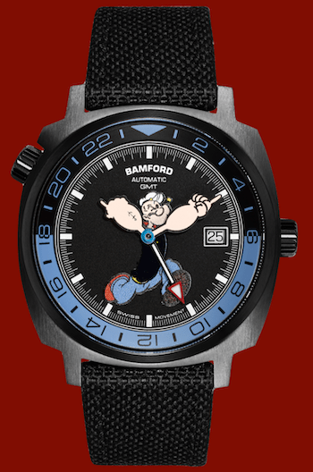 Bamford Popeye Watch money shot