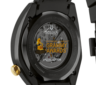 Bulova GRAMMY Awards watch caseback
