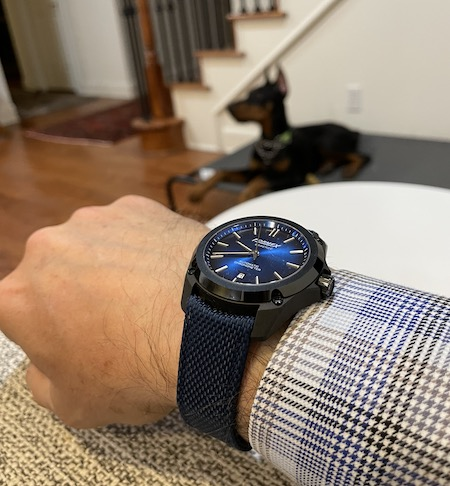 Kevlar and watch